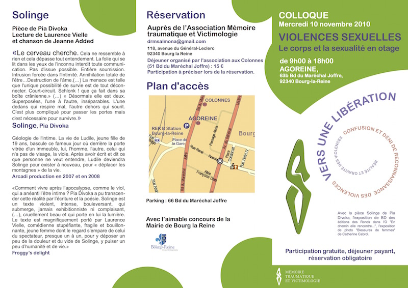programme du colloque 1