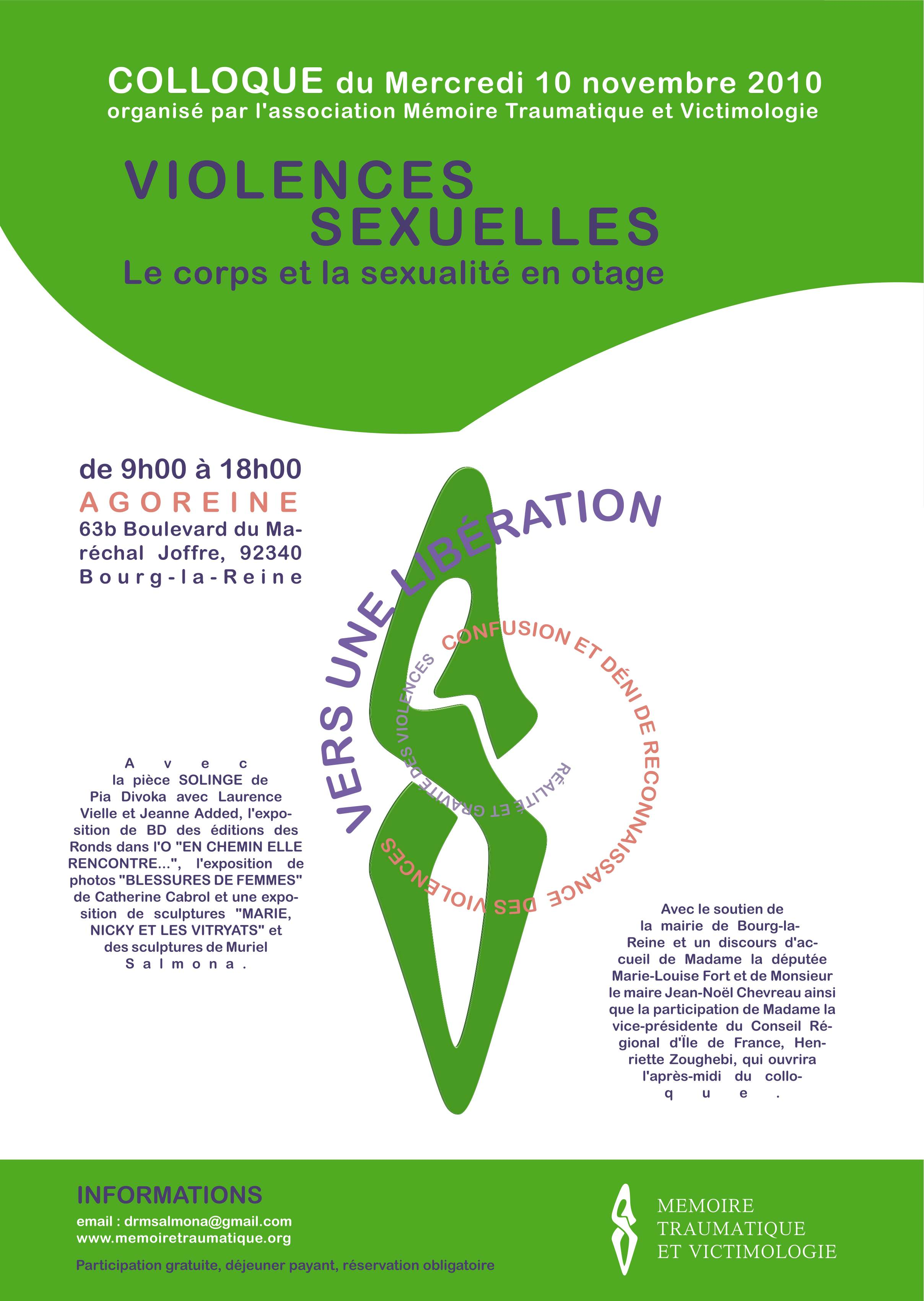 affiche du colloque